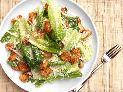 The Best Caesar Salad | Serious Eats : Recipes. Delicious caesar dressing from scratch. Break out the anchovies!