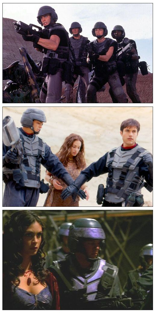 "These pieces of armor were used in ""Starship Troopers"" ""Power Rangers"" and then in an episode of ""Firefly.""   #ScienceFiction #Sci-Fi #Firefly #PowerRangers #StarshipTroopers #Costume #Television #Film"