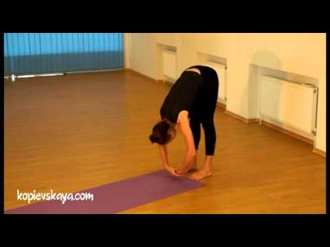 25 Йога для начинающих упражнения - YouTube