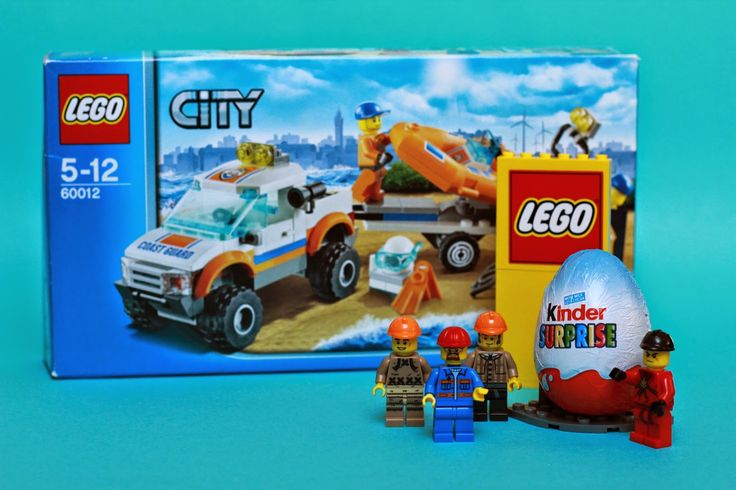 Lego city 4x4 and kinder surprise