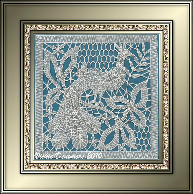 All Things Parchment Craft: Bobbin Lace to Parchment Craft
