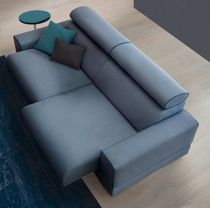 Sofa z regulowanymi zagłówkami OSCAR szara | DESIGNERSKI
