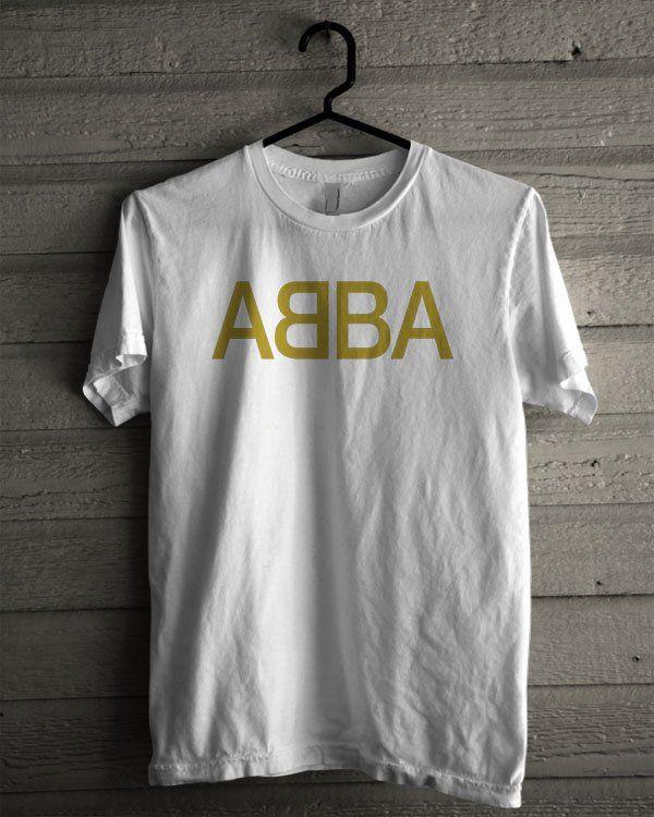 ABBA Logo Shirt | T-shirt Tees Tshirt Tanktop