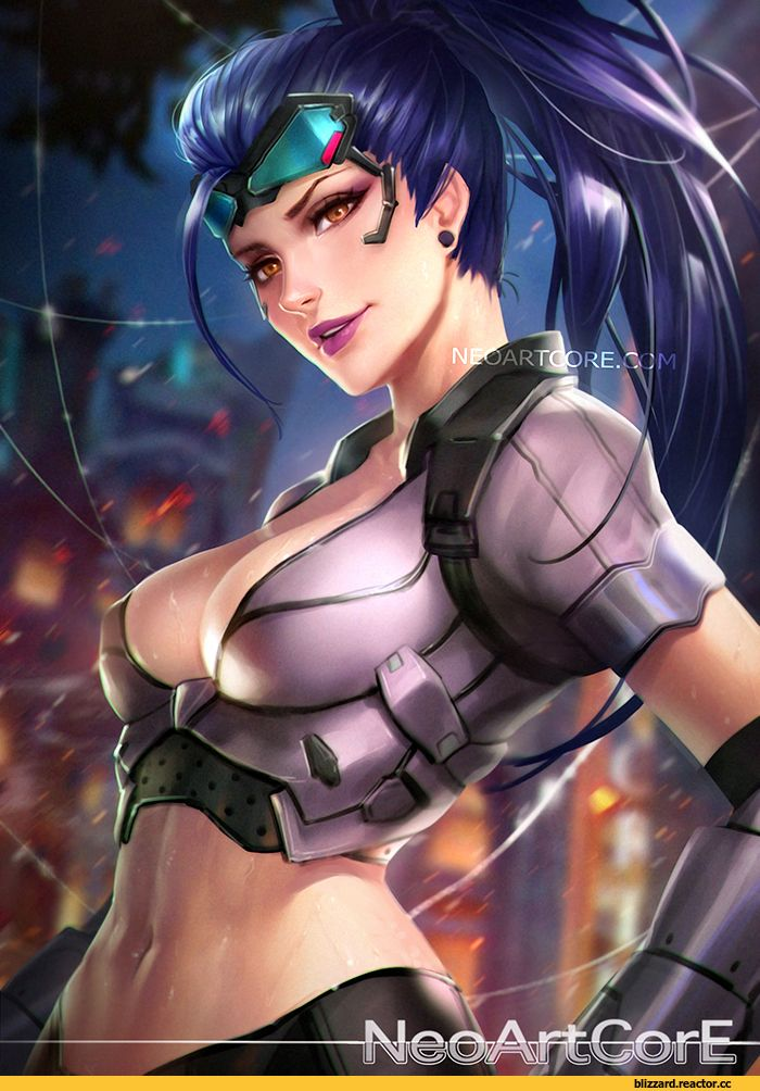 Widowmaker,Overwatch,Blizzard,Blizzard Entertainment,фэндомы,Overwatch art,NeoArtCorE,Nudtawut Thongmai,artist