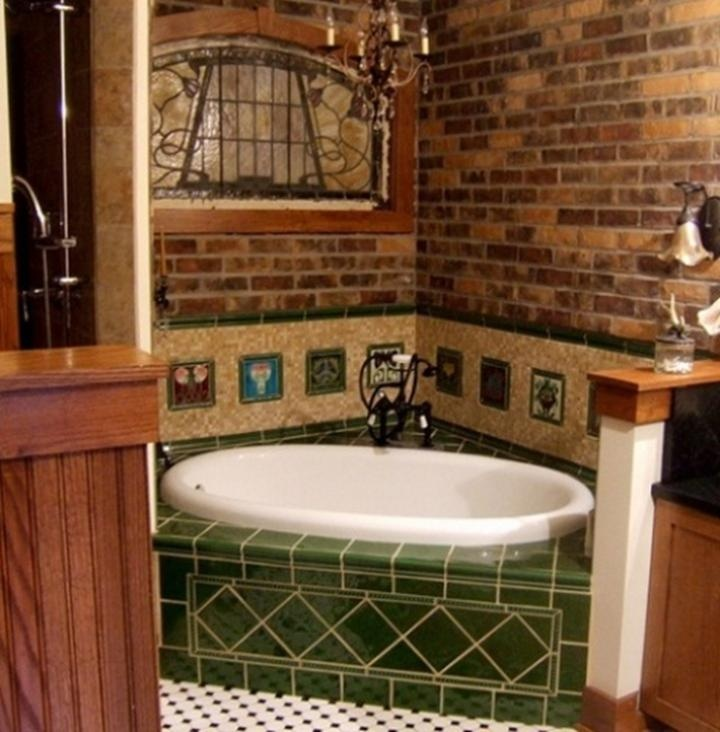 Brick Wall Bathroom: 17 Best Images About Tile & Brick On Pinterest