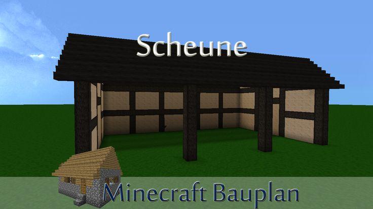 Minecraft Bauplan: Scheune | Gameheart.de