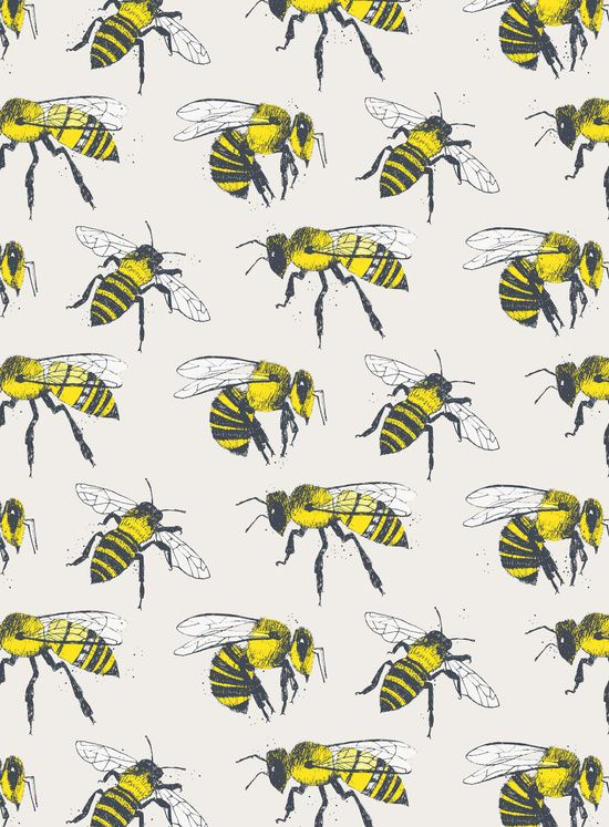 Poster | BEES von Tracie Andrews | more posters at http://moreposter.de