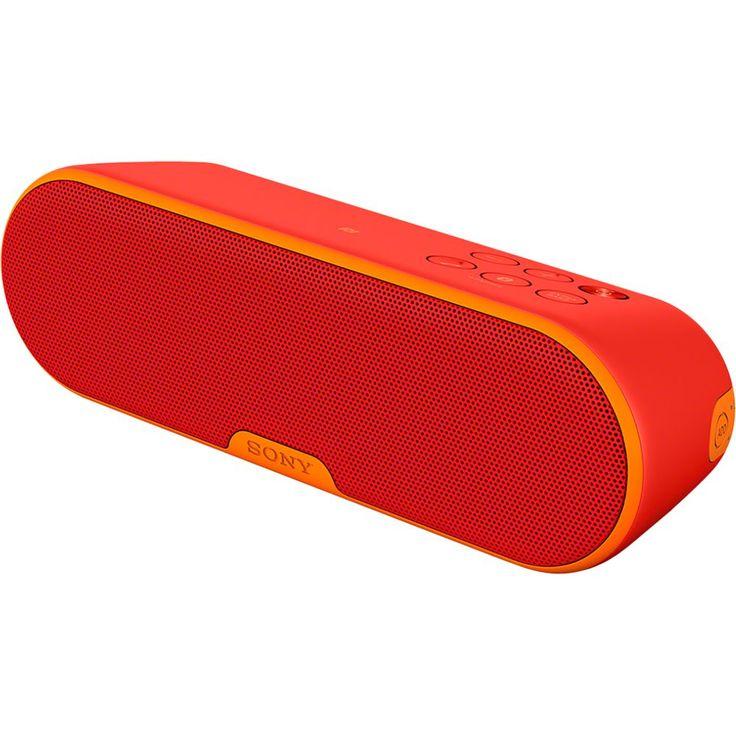 Boxa portabila Sony SRSXB2, Bluetooth, NFC, Wi-Fi, 20W, Rosu