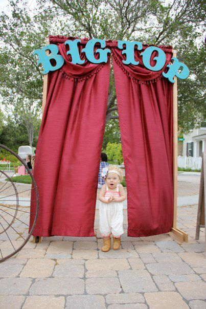 Make your way to the biggest celebration in town!   #circus #carnival #birthday party