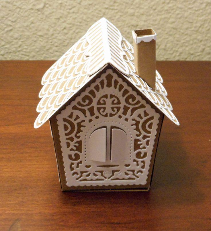 Tonic Studios Gingerbread House die....My version