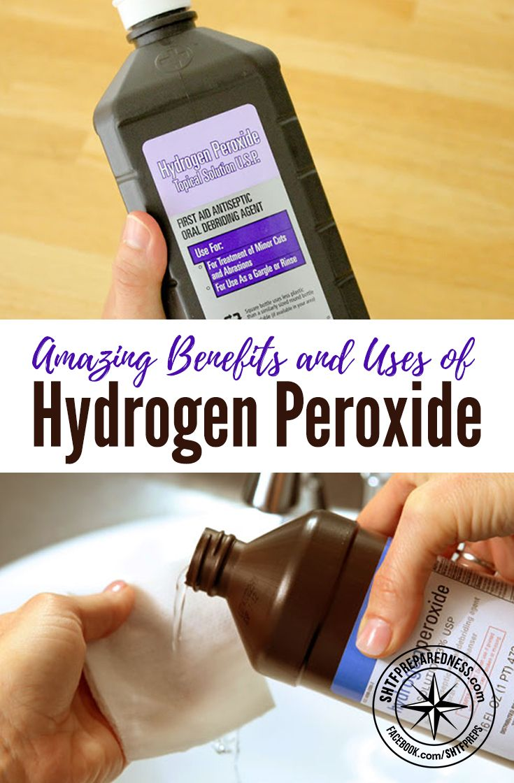 Amazing Benefits and Uses of Hydrogen Peroxide - Hydrogen peroxide is most often used for first aid and it has become a common item in every household. However, hydrogen peroxide can do so much more than disinfecting wounds and staving off infections.