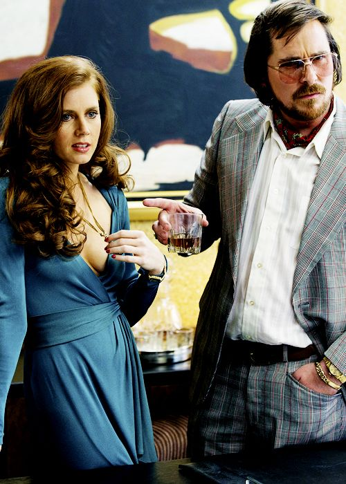 American Hustle / Costume Design by Michael Wilkinson / 1970s fashion.