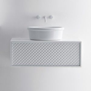 Coco Oval Washbasin &  Cabinet - Roger Seller