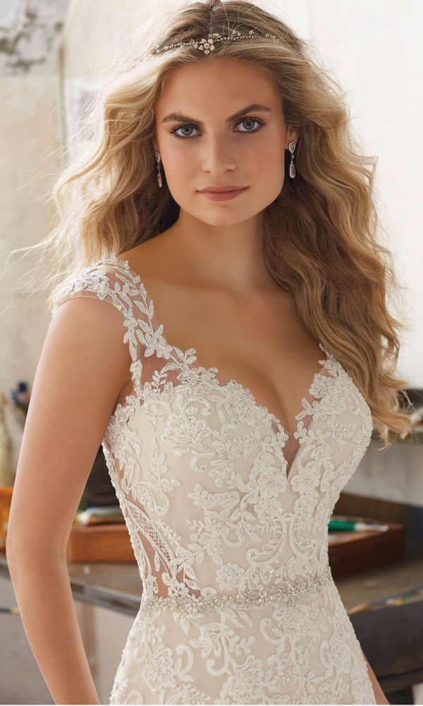Style 8117, Marciana, Mori Lee by Madeline Gardner #wedding #dress