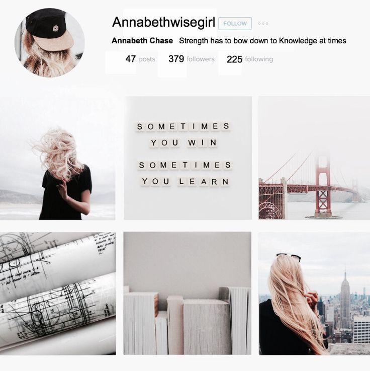 Annabeth Chase Instagram