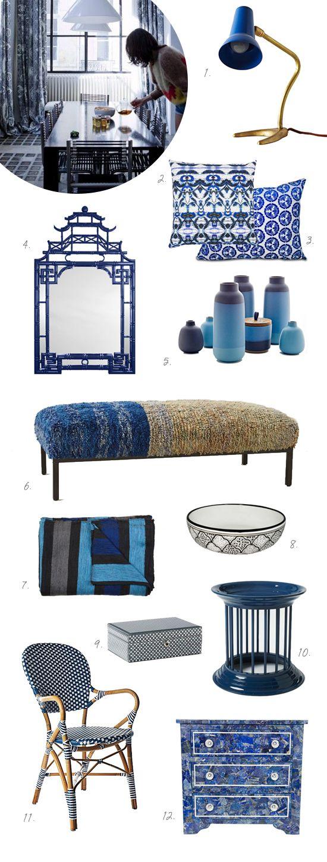 cobalt blue shoppin'