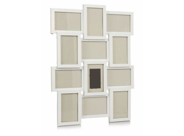 White Multi Wall Mount Photo 12 Available Frame 6 x 4 Inch Photographs Family
