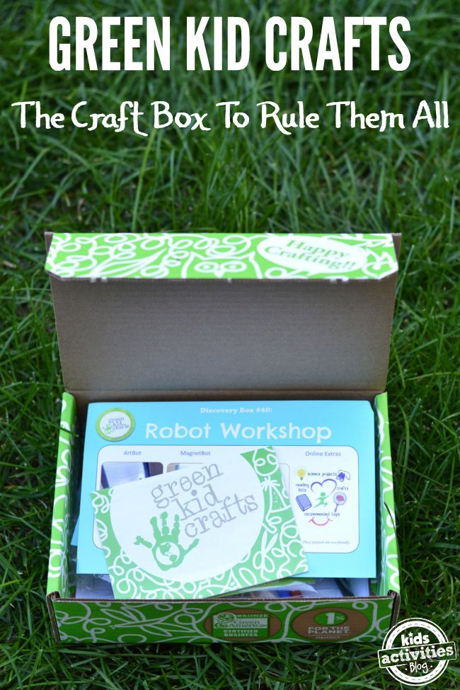 Green Kid Crafts: The Craft Box to Rule Them All. Spend time crafting with your kids and enjoy new crafts every time! @greenkidcrafts