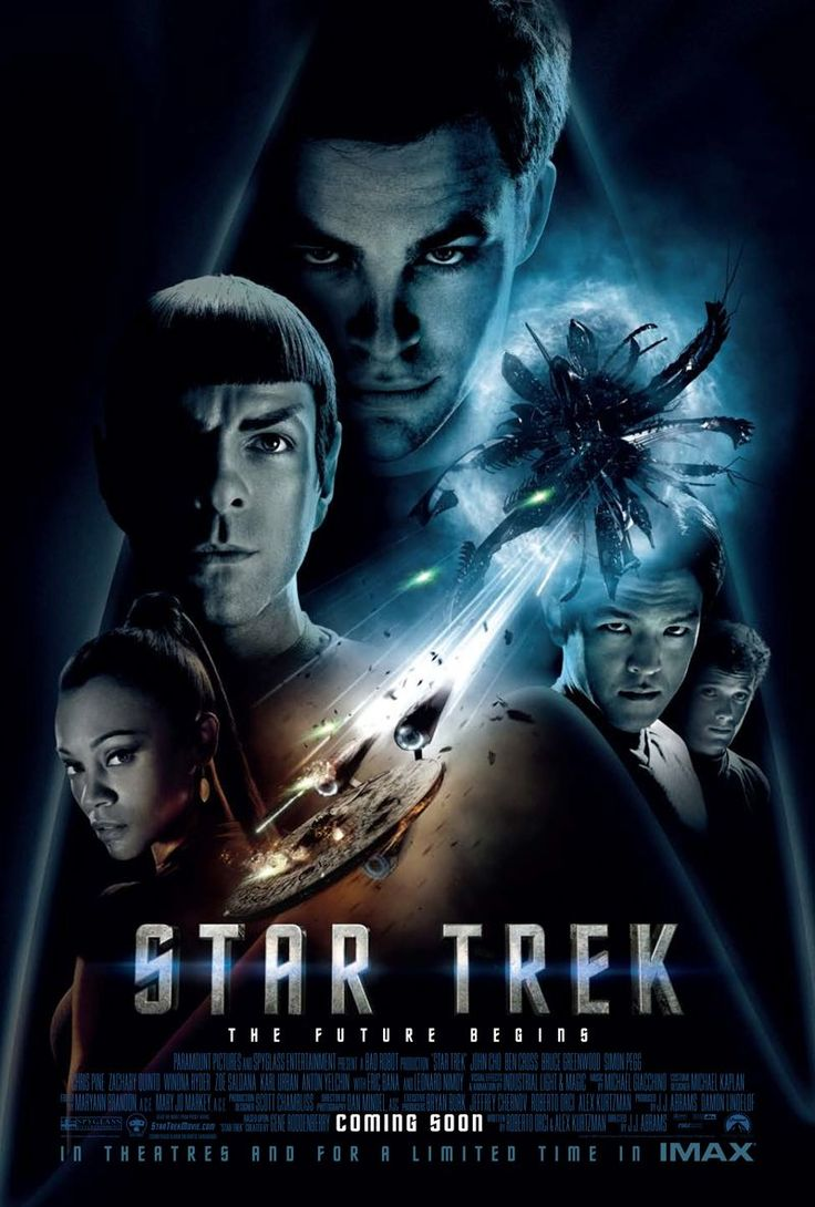 Star Trek- The Future Begins (2009). No offense to all the movies, but this is the BEST Trek film of all. Great story line, alternate reality. Now they van remake all six original movies, which will all have different stories.
