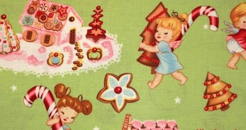 Angel Cakes $9.25: Cakes Fabrics, Cakes 9 25, Henry Angel, Christmas Blankets, Angel Cakes