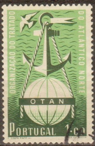 Portugal Nato North Atlantic Treaty Organization On Stamps Theme Stamp Postage Stamps Theme