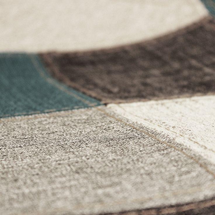 23 best la vie en bleu images on pinterest charles eames for Chaise eames patchwork