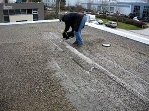 Tar Gravel Roof Repair Di 2020 Teknologi