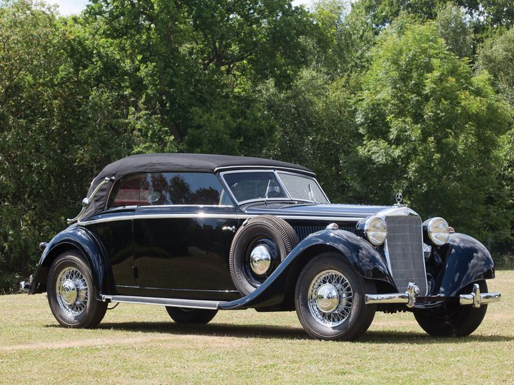 1938 Mercedes-Benz 320 Cabriolet B #mbhess #mbclassic