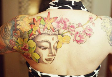 oohvelocitygirl: Tattoo Tuesday - Buddhist Symbols