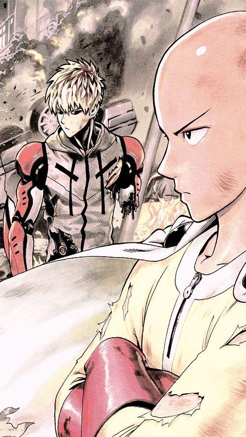 one punch man, si vous avez pas encore vu cet anime, il faut le voir! Il est TROP COOL!!!