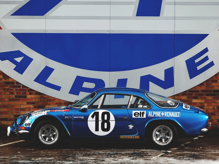 One of the most beautiful rally cars of all time.
