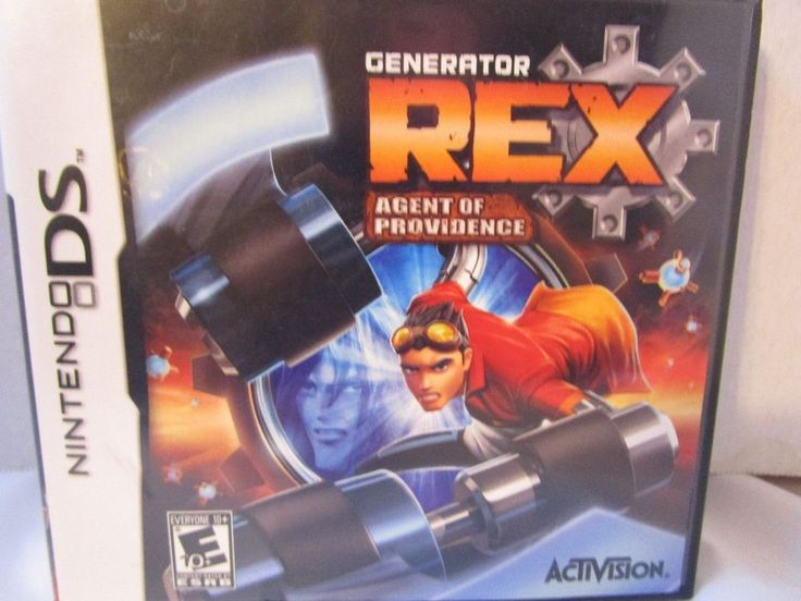 Generator Rex: Agent of Providence (Nintendo DS, 2011)Complete Rated E Free Ship #Nintendo