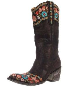 Fashion Cowboy Boots for Cheap | ... old gringo floral embroidered gaya cowboy western boots for women