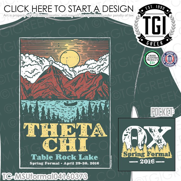 TGI Greek - Theta Chi - Formal - Greek Apparel #tgigreek #thetachi