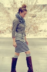 Cute and comfy autumn outfit