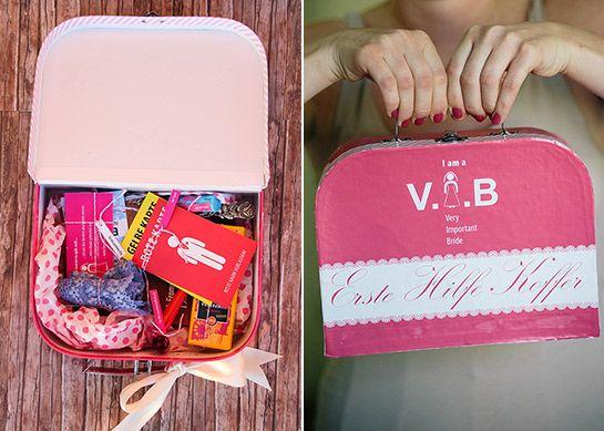 Erste-Hilfe-Koffer für die Braut | DIY LOVE