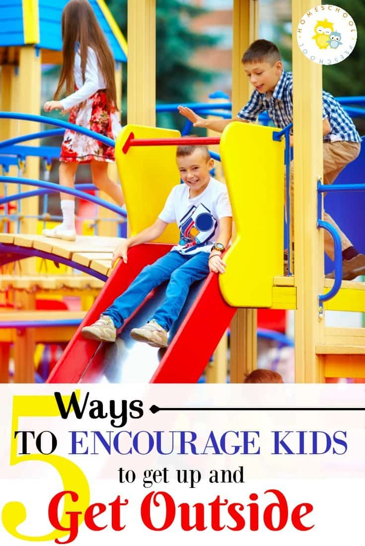 If you want your kids to get off the couch, be more active, and get outside, don't miss these tips for getting kids outside this summer.