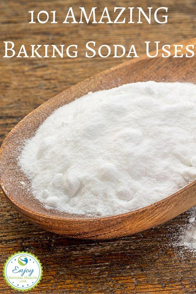 101 AMAZING Baking Soda Uses More