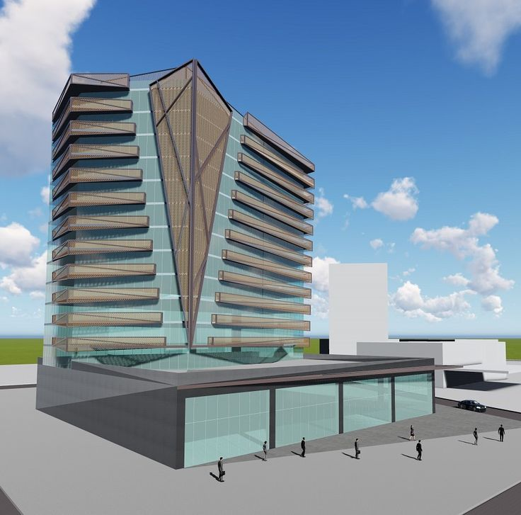 75 Plaza office tower in Diyarbakır, Turkey