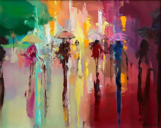 Give this a look : 'Stroll Through Rainbow', 2014 Contemporary Limited Edition Print Ready To Hang http://evaart.net/products/stroll-through-rainbow-2014?utm_campaign=crowdfire&utm_content=crowdfire&utm_medium=social&utm_source=pinterest