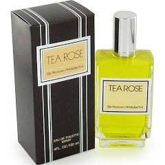 Tea Rose by Perfumers Workshop EDT Spray 4 oz Women