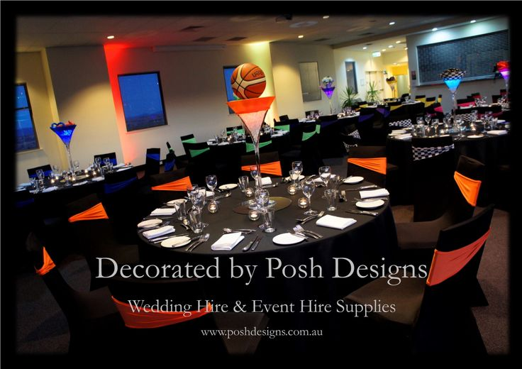 #corporate #basketballthemetablecentre #theming available at #poshdesignsweddings - #sydneyfunctions #southcoastfunctions #wollongongfunctions #canberrafunctions #southernhighlandfunctions #campbelltownfunctions #penrithfunctions #bathurstfunctions #illawarrafunctions All stock owned by Posh Designs Wedding & Event Supplies – lisa@poshdesigns.com.au or visit www.poshdesigns.com.au or www.facebook.com/.poshdesigns.com.au #decorations #Corporate #event decoration #Fundraising event decoration
