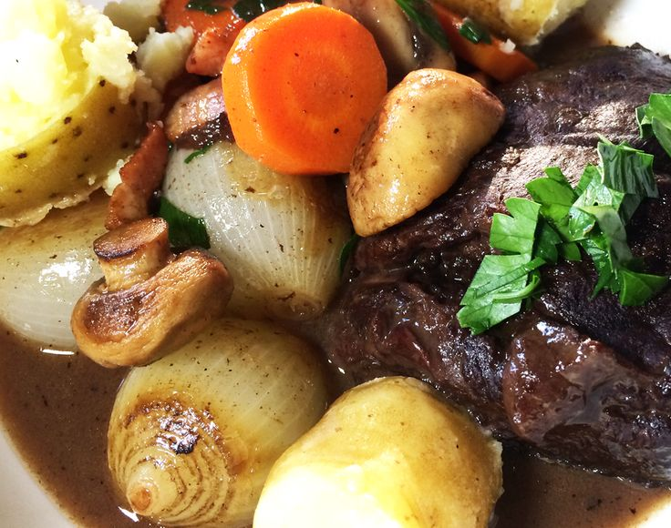 This recipe marries two incredible entities; the classic French dish of Bourguignon and the sumptuously meaty flavour of beef cheeks, or joues de boeuf.