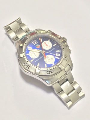 TAG HEUER CAF1110 AQUARACER CHRONOGRAPH BLUE DIAL MEN WATCH - http://menswomenswatches.com/tag-heuer-caf1110-aquaracer-chronograph-blue-dial-men-watch/ COMMENT.