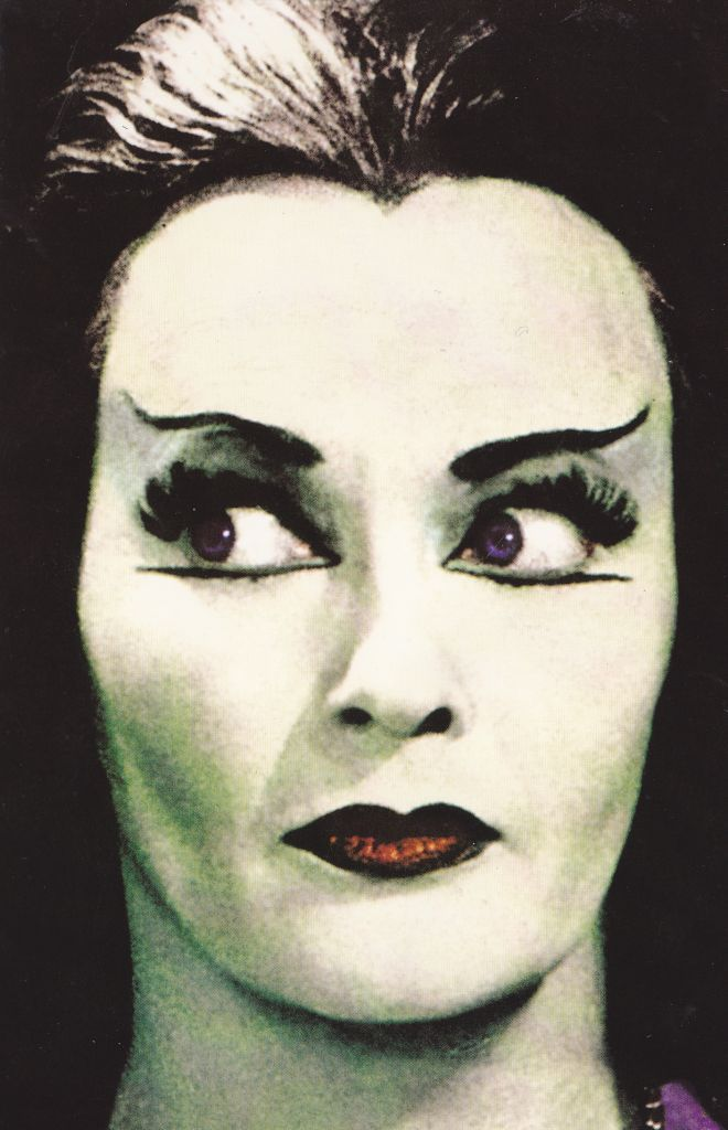 The Munsters - Yvonne de Carlo as Lily Munster This picture should be hung over on my side of the bed. :)