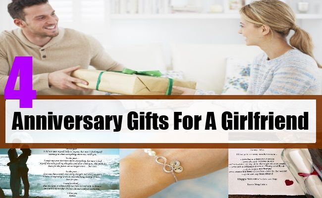 Anniversary Gifts For A Girlfriend