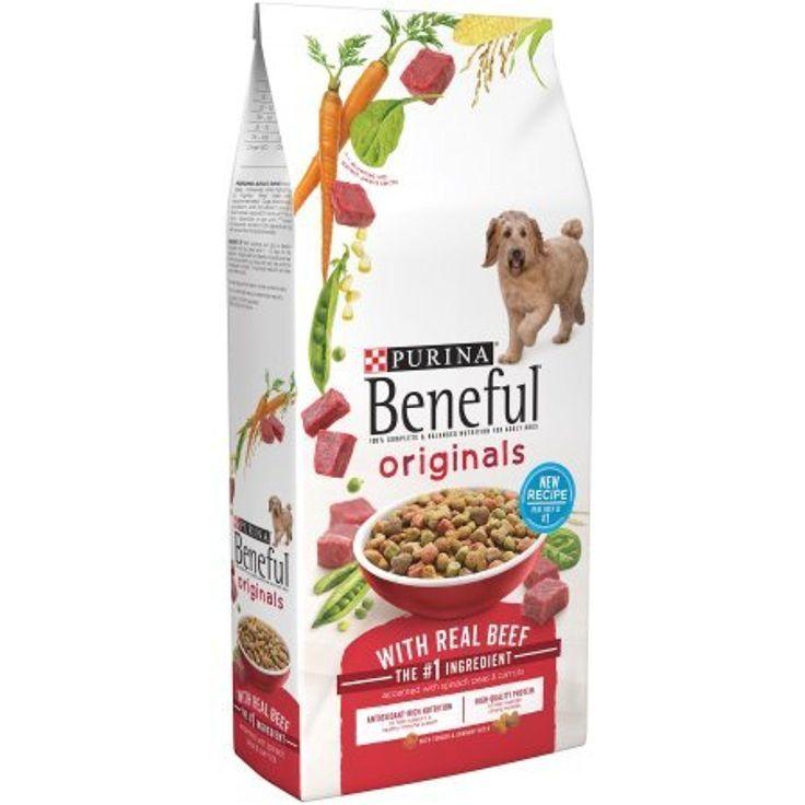 Beneful original dog food with real beef 100 balanced