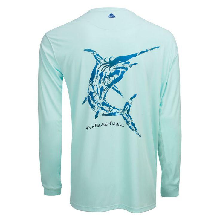 Men's OTP UV Shirt: Wild Oceans
