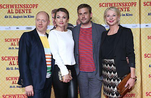 SCHWEINSKOPF AL DENTE feiert Premiere in München