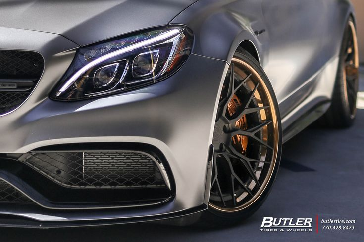 Mercedes Amg Edition 1 C63 S Coupe With 21in Avant Garde Agl43 Wheels Mercedes C Class Atlanta